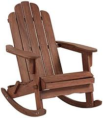 adirondack rocking chairs. Unique Chairs Chandler Dark Natural Adirondack Rocking Chair Throughout Chairs K