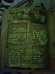hiding places doodle of journal 1 journal 1 describes my first 3 years in gravity falls focuses on mythical beasts geographic anomalies
