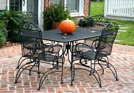dreaded patio ideas black metal patio dining sets metal patio table and throughout metal patio dining