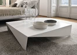 contemporary white coffee table for living room decor ideas