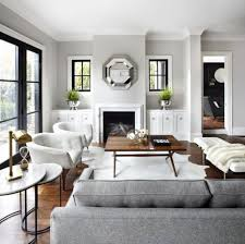 Grey And White Living Room Wall Paint Color For Cool And Warm Mood ...
