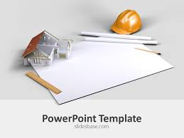 Architectural Powerpoint Template Architecture Plan Powerpoint Template