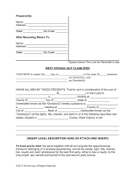 relinquish rights to property form free west virginia quit claim deed form pdf word eforms free