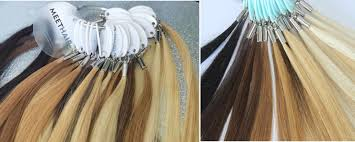 Sample Hair Colors Chart Human Hair Extensions Color Chart Meet Hairs Official