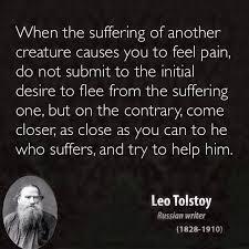 Doodles and Sad on Pinterest Pinterest Leo Tolstoy quotes animal rights bearing witness vegetarian vegan