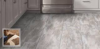 vinyl tiles replicate the qualities of authentic stone and can be installed with or without grout they give a warm and comfortable underfoot