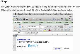 small business budget examples 7 free small business budget templates fundboblog scotts