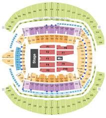 Ed Sheeran Tampa Seating Chart Centurylink Field Tickets And Centurylink Field Seating