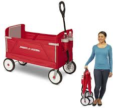 groupon radio flyer radio flyer 3 in 1 ez folding wagon for kids only 57 80 shipped