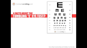 E Chart Test 4 Facts About The Tumbling E Eye Chart