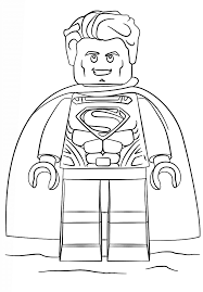 This superman colouring sheet for children is ideal for a quick colouring painting activity when you need it. Superman Coloring Pages Free Printable Coloring Pages For Kids