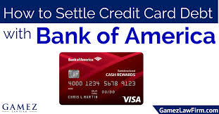 how to settle credit card debt with