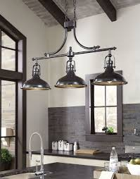 glamorous rustic chic lighting fixtures such as joseph 3 light kitchen island pendant reviews