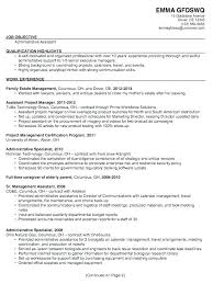 Executive Assistant Resumes Examples Admin Resume Objective
