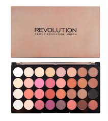 makeup revolution eyeshadow pallete flawless 4