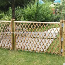 china bamboo garden fence on global