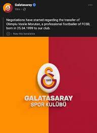 النادي عبر صفحته... - Galatasaray Arabia - عشاق غلطة سراي