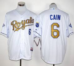 Stitched White 6 Lorenzo Royals World Jersey Cain Gold Series Baseball Champions Program 2015 abbcdee|Doug's Running Blog