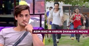 asim riaz acted in varun dhawan s