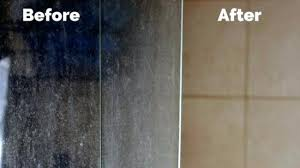 hardwater stains on glass cleaning shower doors hard water how to clean how to prevent hard