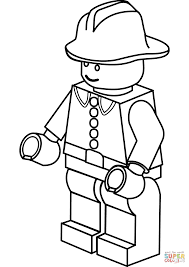Small Picture Lego Firefighter coloring page Free Printable Coloring Pages