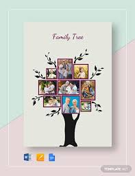 Drawing A Family Tree Template 35 Family Tree Templates Word Pdf Psd Apple Pages
