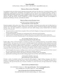 Sample Resume Objectives For Paraprofessional New Paraprofessional
