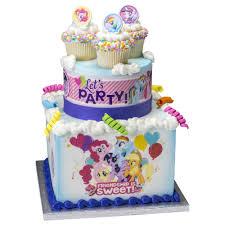 Design My Cake My Little Pony Sweet Friendship Stacked Cake Design Decopac