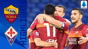 Highlights of Roma's 2-0 Victory Over Fiorentina - Chiesa Di Totti