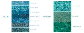 Thermae Spa Color Chart Finish Your Swimming Pool Water Color Finish Options