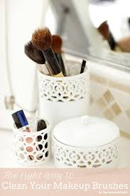 beauty how to clean your makeup brushes