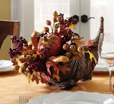 ... Sweet Interior Design Ideas With Fall Table Decoration : Fetching Floral  Arrangement Centerpiece On Cream Dining ...