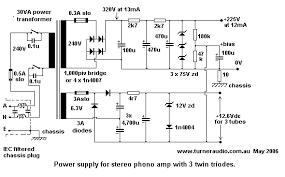 miscellaneous schematics1 schematic phono amp psu