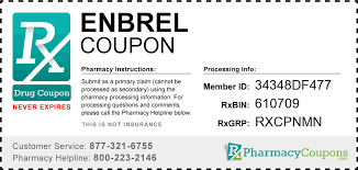 enbrel coupon gives free access to whole cation s