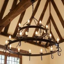shepherds crook wrought iron chandeliers