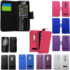 PU LEATHER COVER FOR NOKIA 301 ...