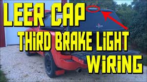 Leer Camper Shell Brake Light Replacement Third Brake Light Wiring Leer Ram 1500 Youtube