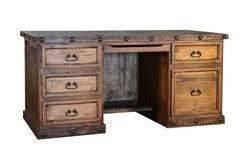 hidalgo rustic executive desk 3