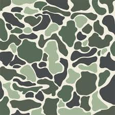 Brown Stencil Camo Template Free Powerpoint Asctech Co