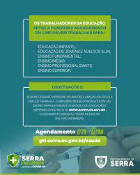 O calendário escolar da Prefeitura... - Prefeitura da Serra