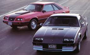 1983: Ford Mustang GT vs. Chevrolet Camaro Z28 H.O. | Archived ...