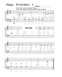 sheet music for kids free downloads childrens music free sheet music with worksheets