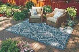 better homes and gardens outdoor 6ft 6in x 9ft 6in camrose farmhouse blume quatrefoil rug com