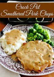 Lowcountry Smothered Pork Chops Recipe  Paula Deen  Food NetworkCountry Style Smothered Pork Chops