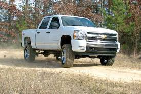 Z Chevy Silverado Front Lift Photo