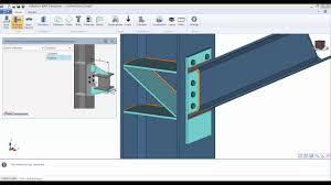 Descon Connection Design Software Graitec Bim Designers Steel Connection Moment Connections