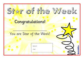 Printable Award Certificates Gold Star Certificate Template Award ...