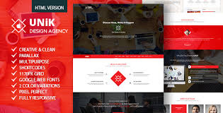 Unik Creative Multipurpose Html Template Free Download