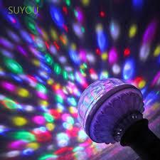 Bóng Đèn Led Xoay Nhiều Màu Sắc Suyou E27