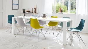 white gloss extending dining table